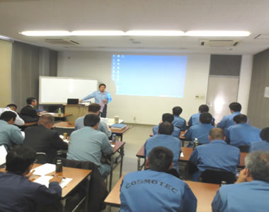 Training on safety, operation and maintenance